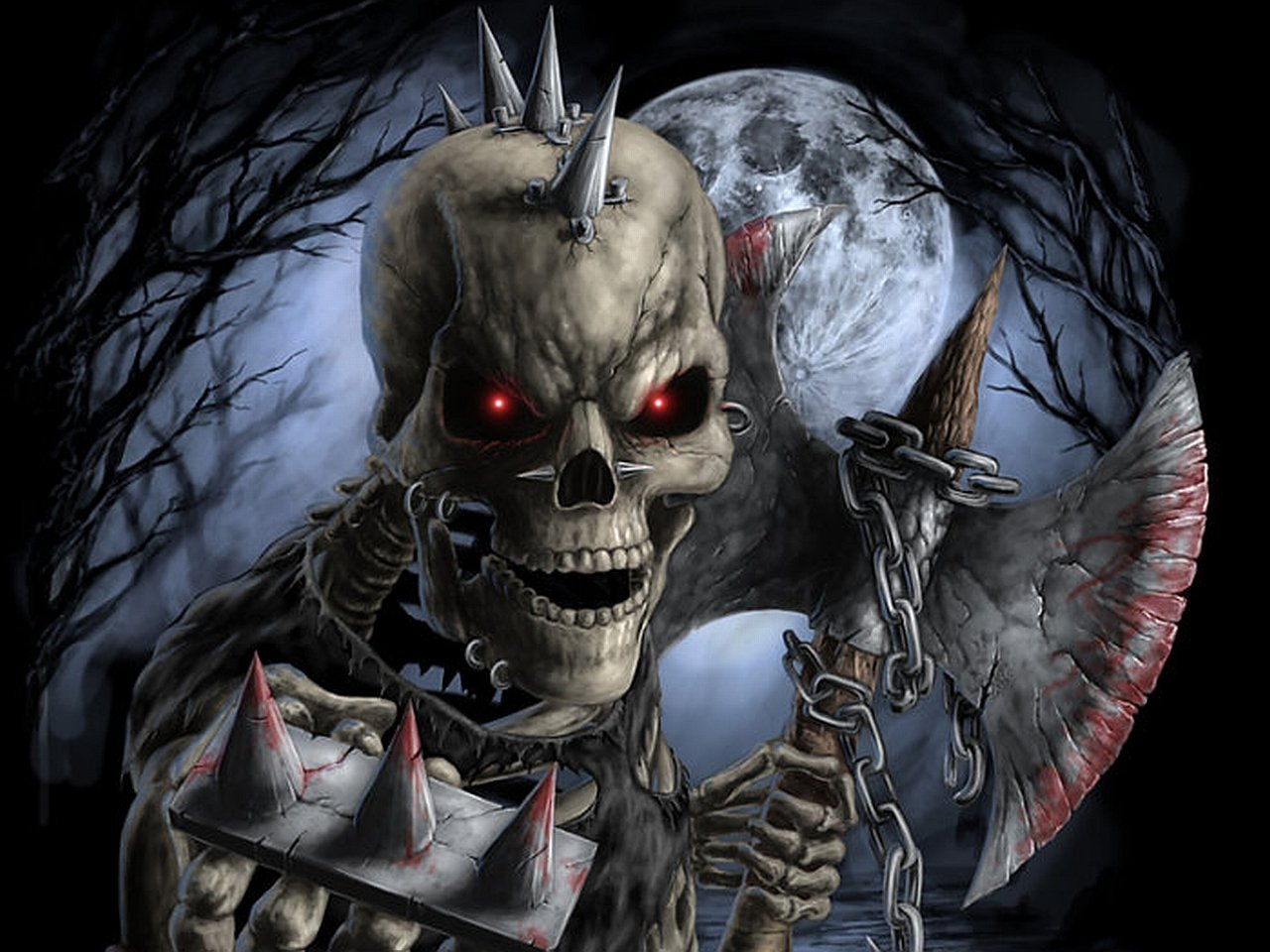 Skeleton Wallpaper Download