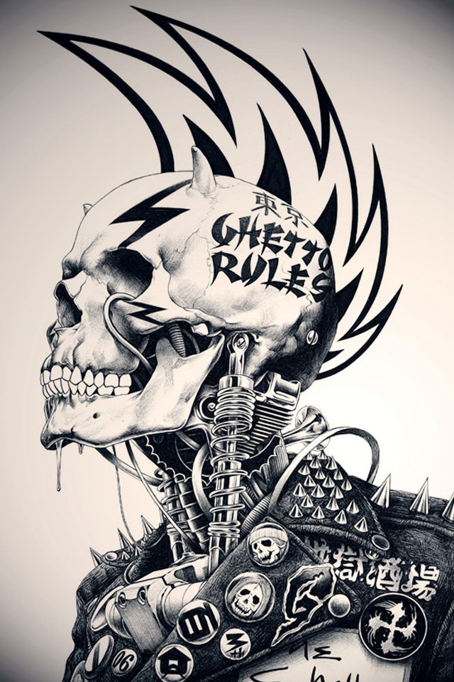 Download Skeleton Wallpapers For Mobile Gallery