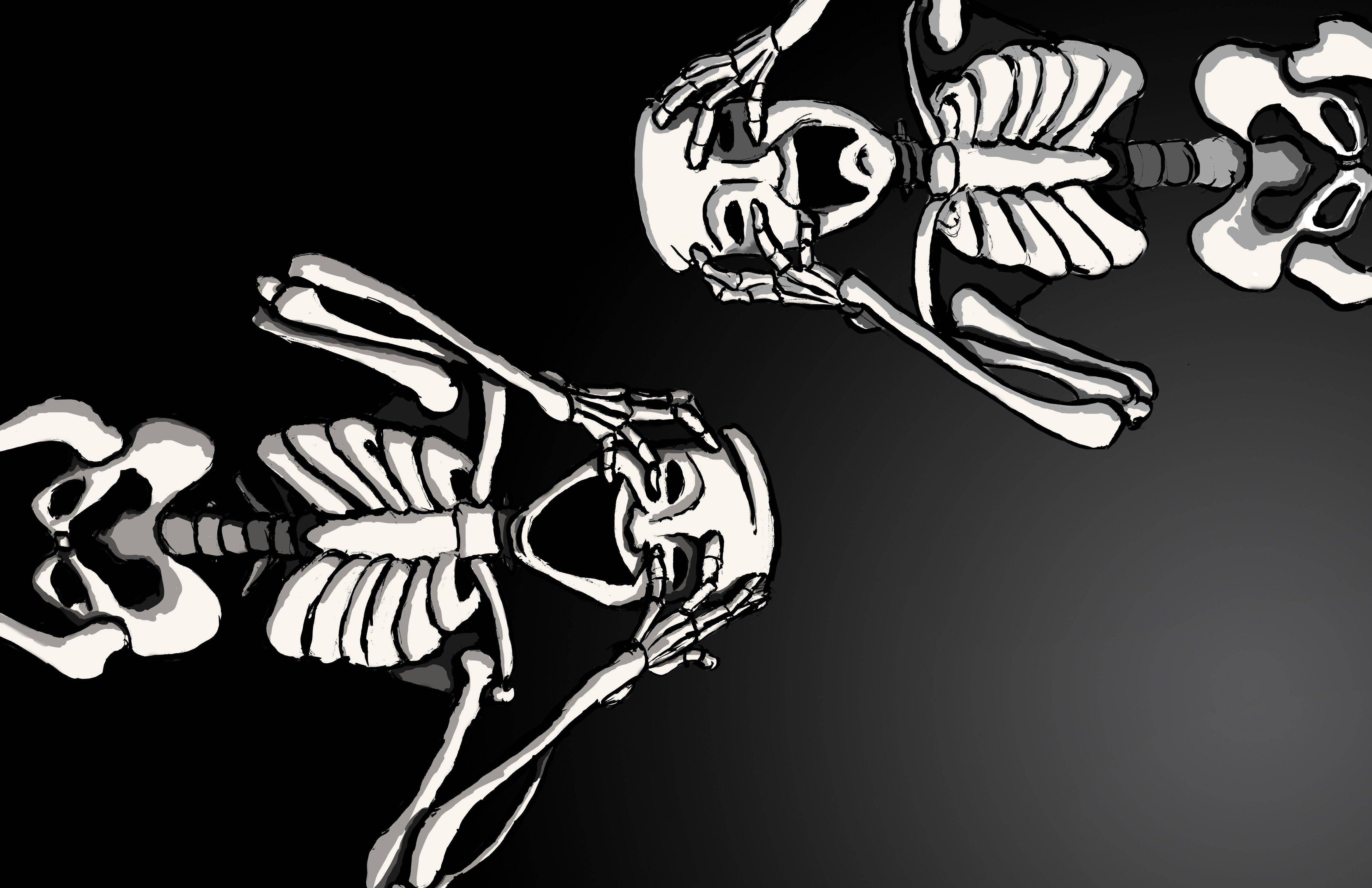 Skeletons Wallpapers