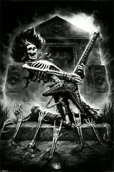 Download Skull Guitar Wallpaper Gallery