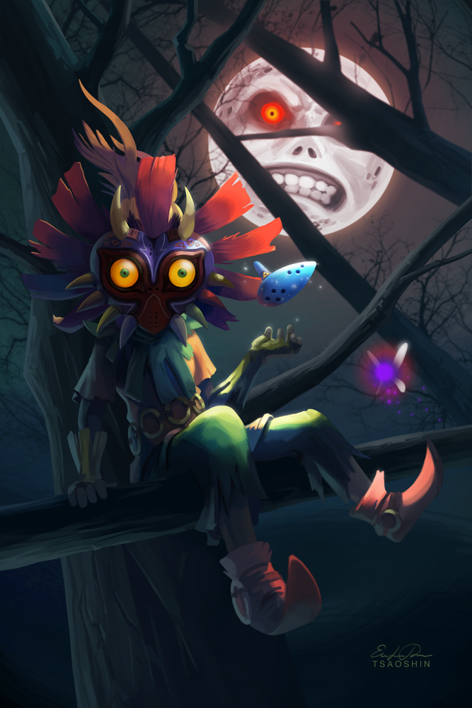 Skull Kid Wallpaper
