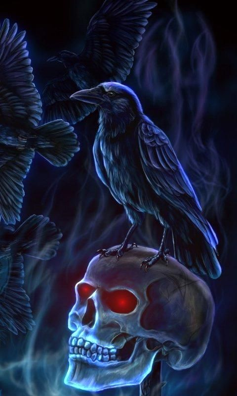 Evil crow wallpaper - photo#46