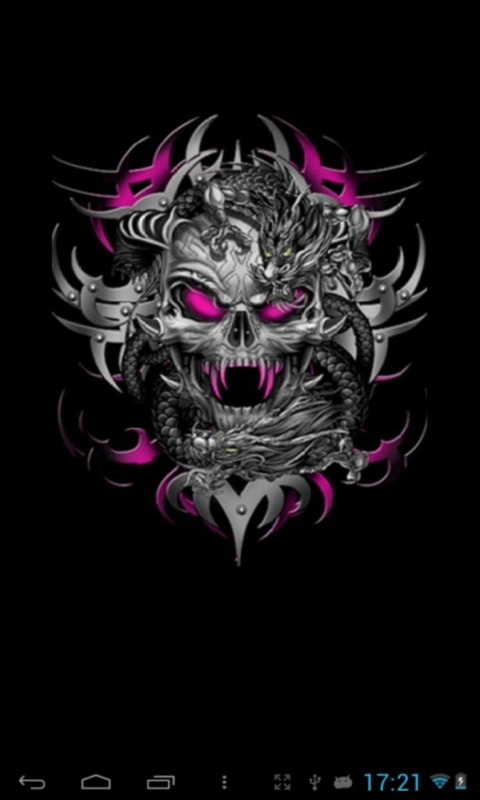 Skull Live Wallpaper Download