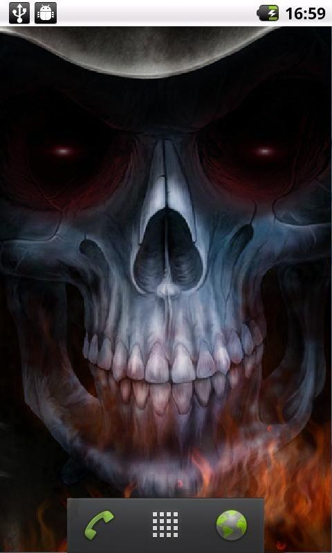 Download Skull Live Wallpaper Download Gallery