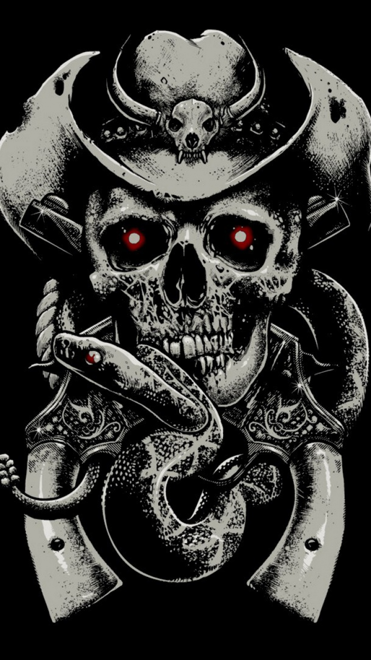 Download Skull Wallpaper For Iphone Gallery