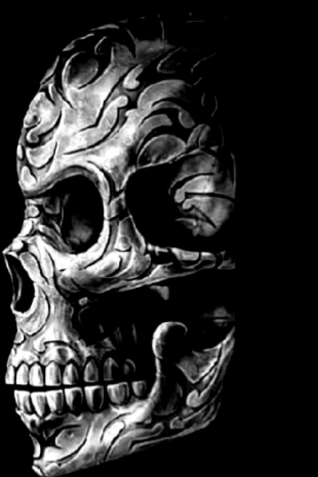 Skull Wallpaper For Iphone