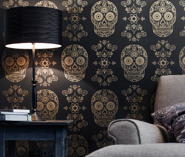 Skull Wallpaper For Walls Uk