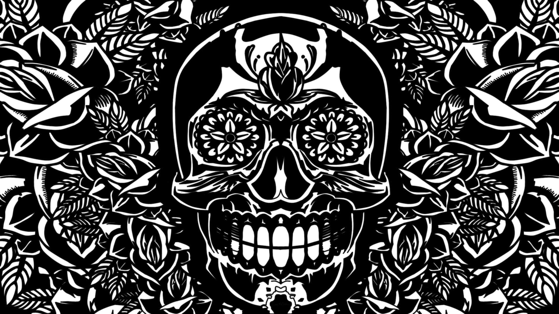 Skulls Desktop Wallpaper