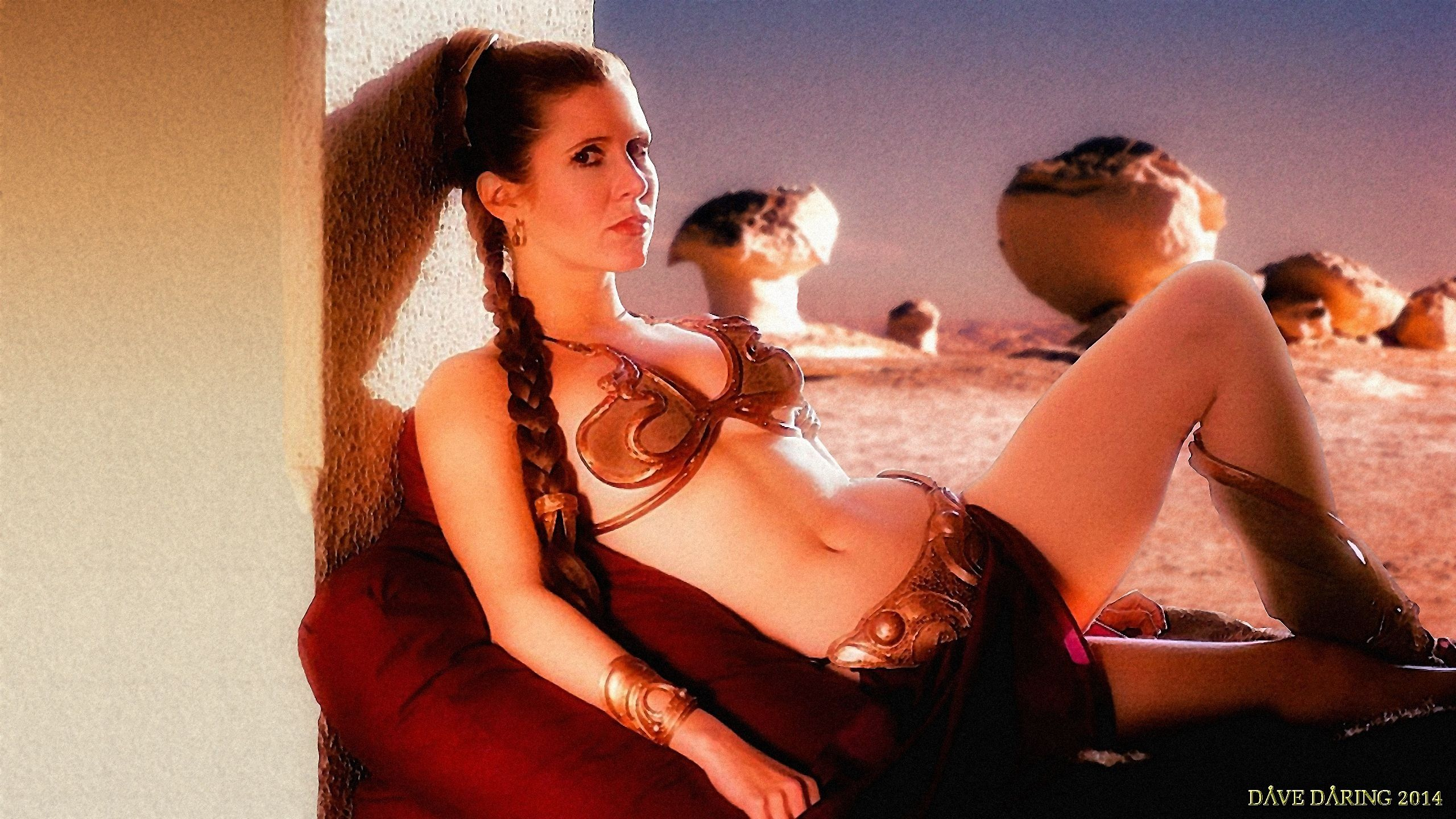 Slave Leia Wallpaper