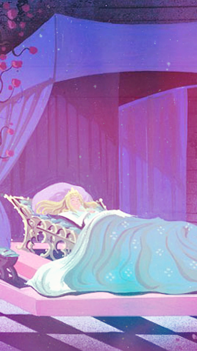 Sleeping Beauty Iphone Wallpaper