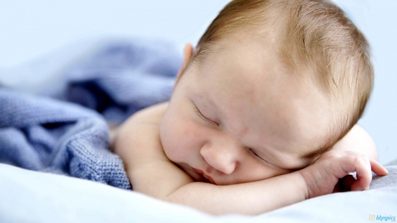 Sleeping Boy Wallpaper