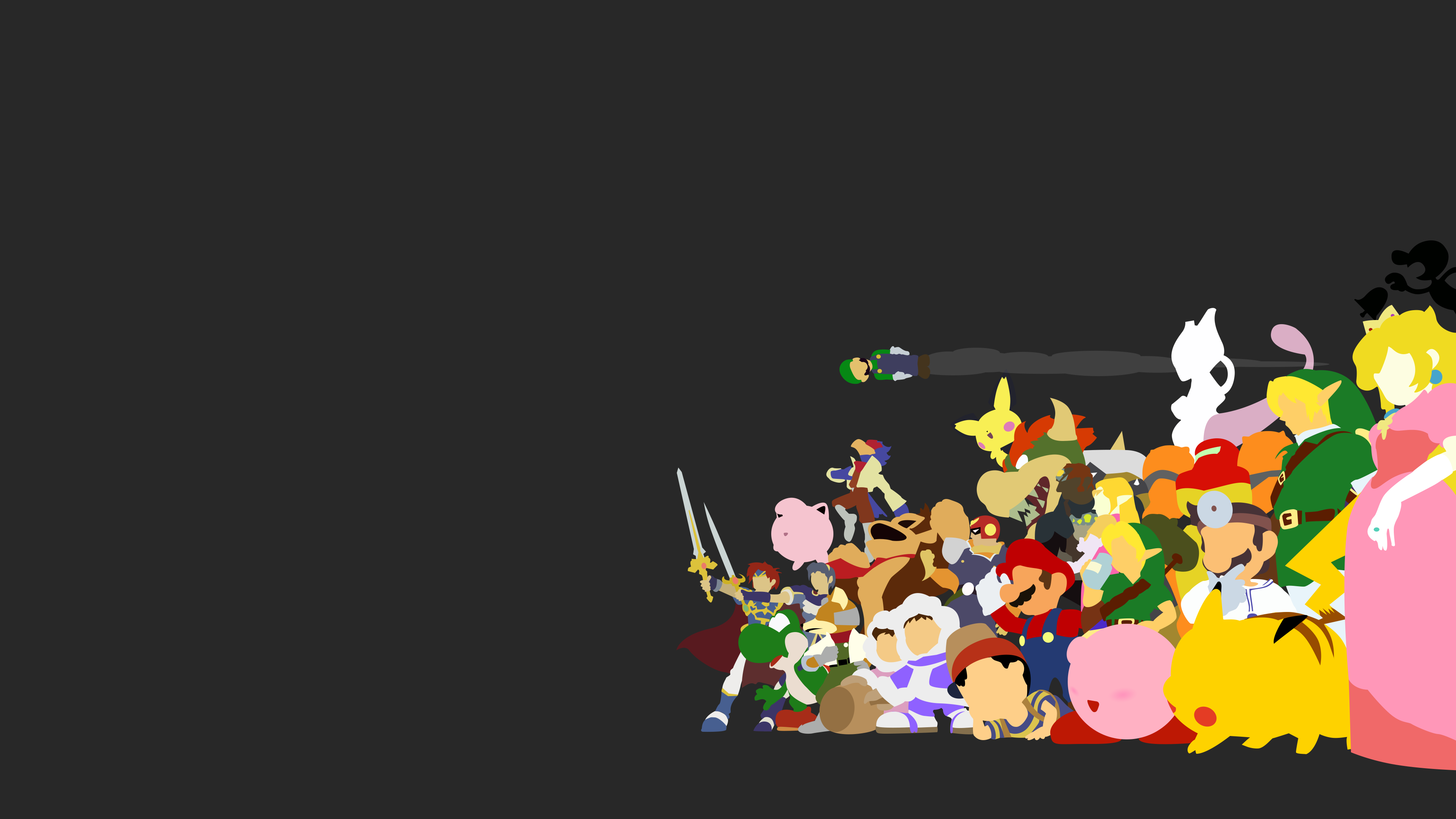 Smash Bros Melee Wallpaper