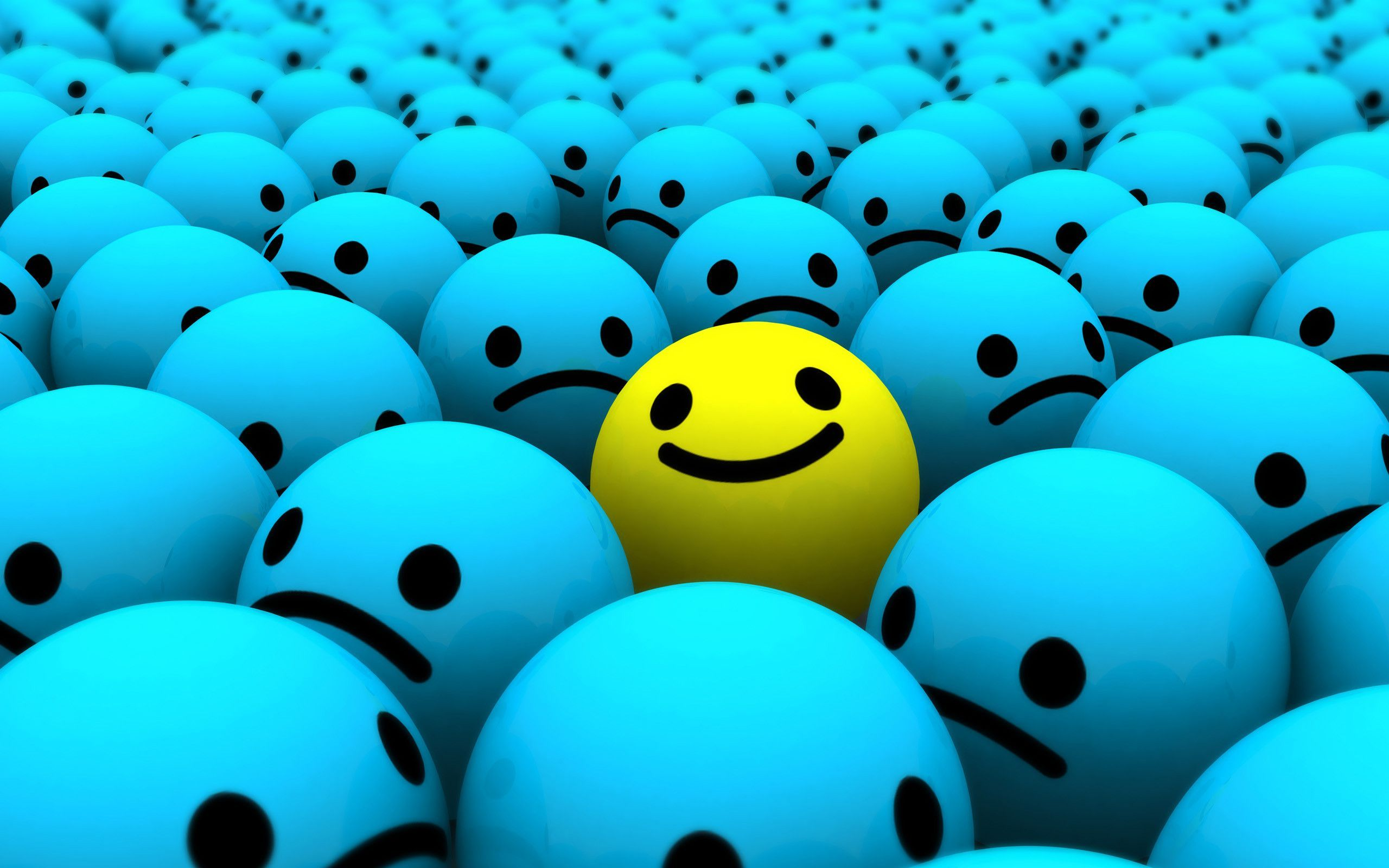 Smiley Face Desktop Wallpaper