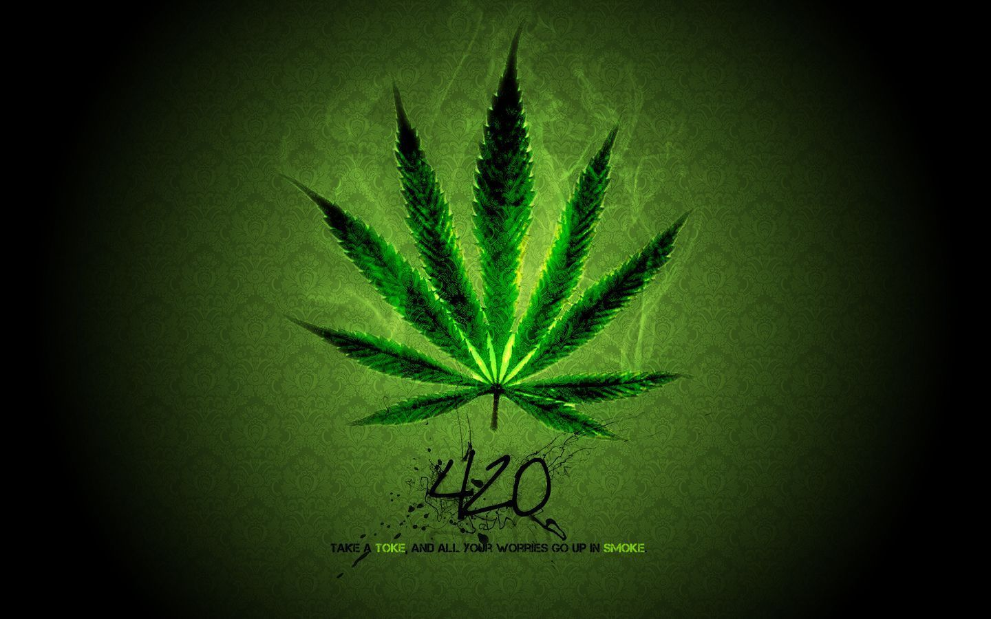 Smoke Weed Wallpaper