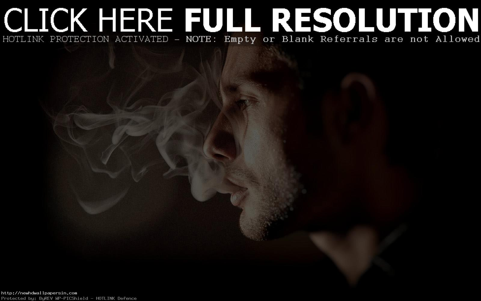 Smoking Boy HD Wallpaper