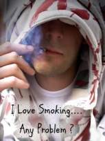 Smoking Love Wallpaper