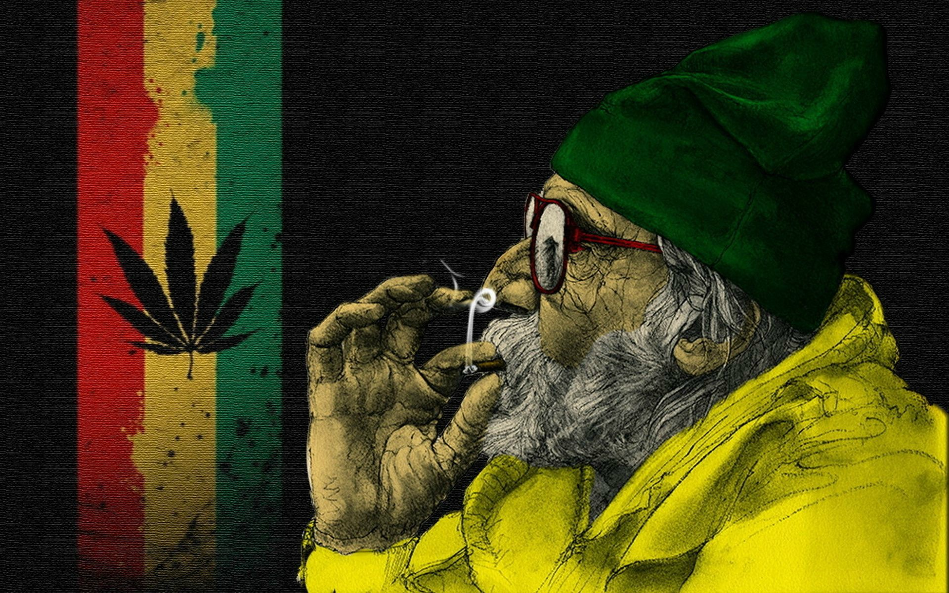 Smoking Weed Wallpapers