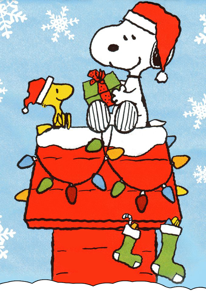 Download snoopy and woodstock christmas wallpaper gallery - Free snoopy images ...