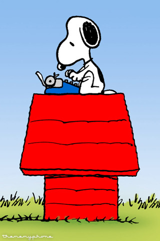 Snoopy Mobile Wallpaper