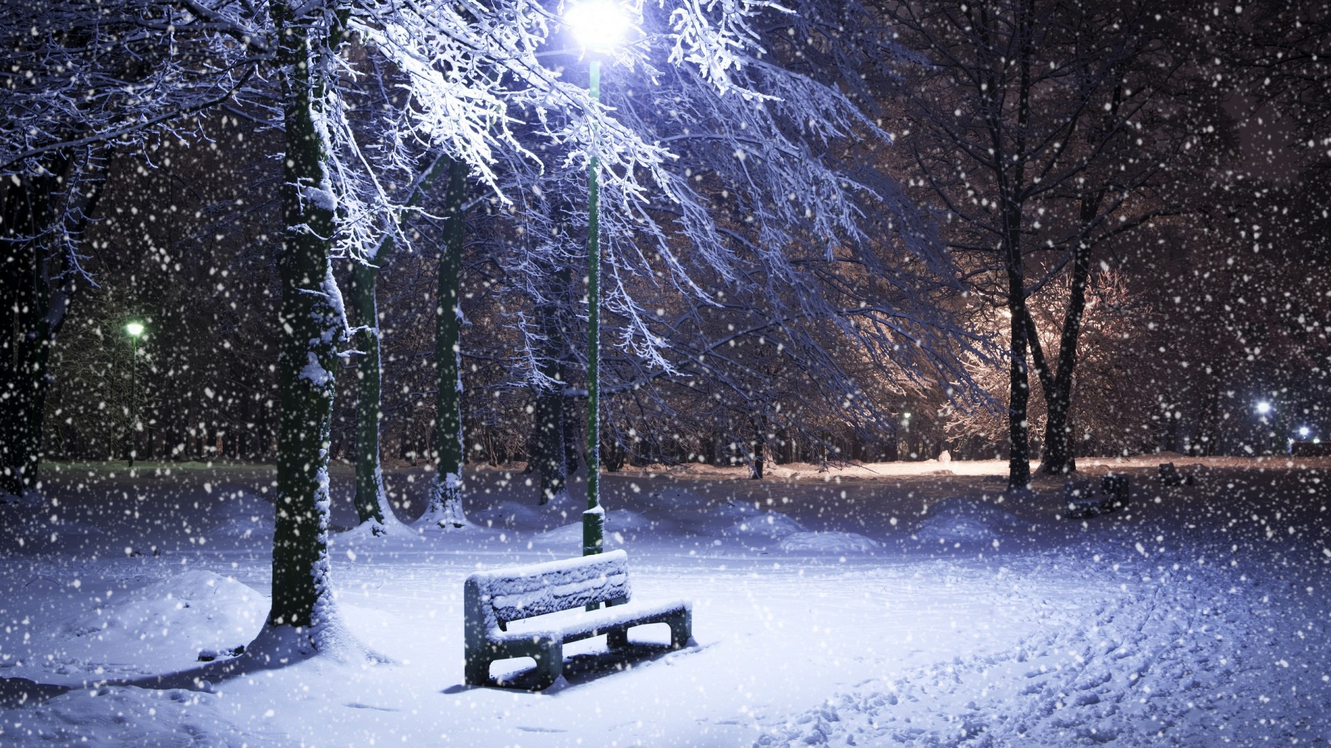 Snow Full HD Wallpaper