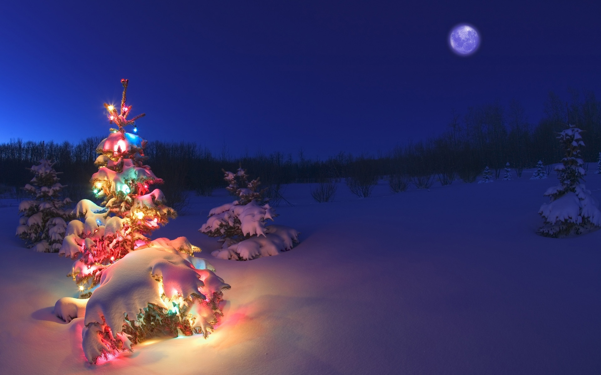 download snowy christmas wallpaper gallery