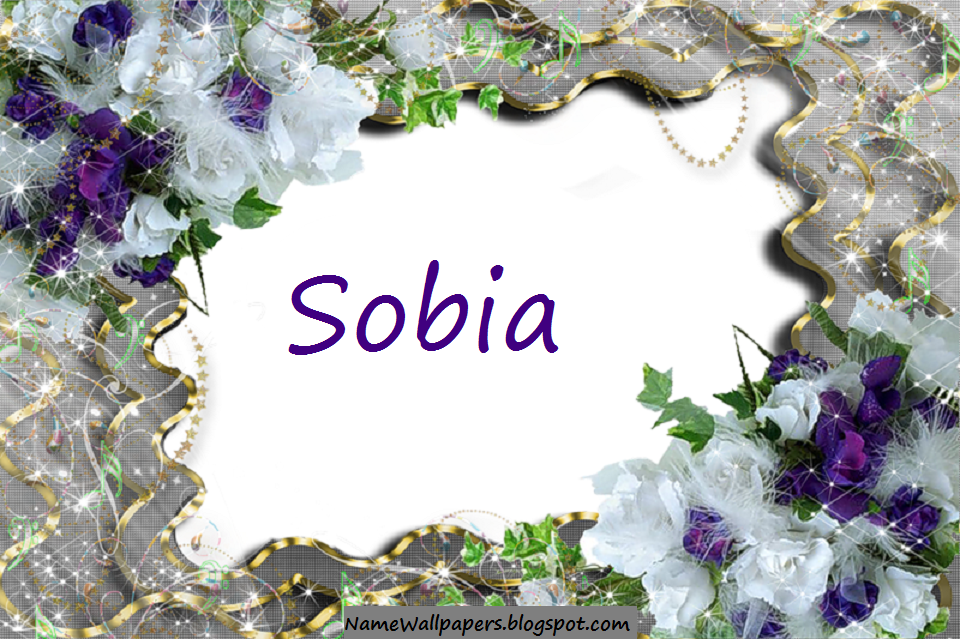 Download Sobia Name Wallpaper Gallery