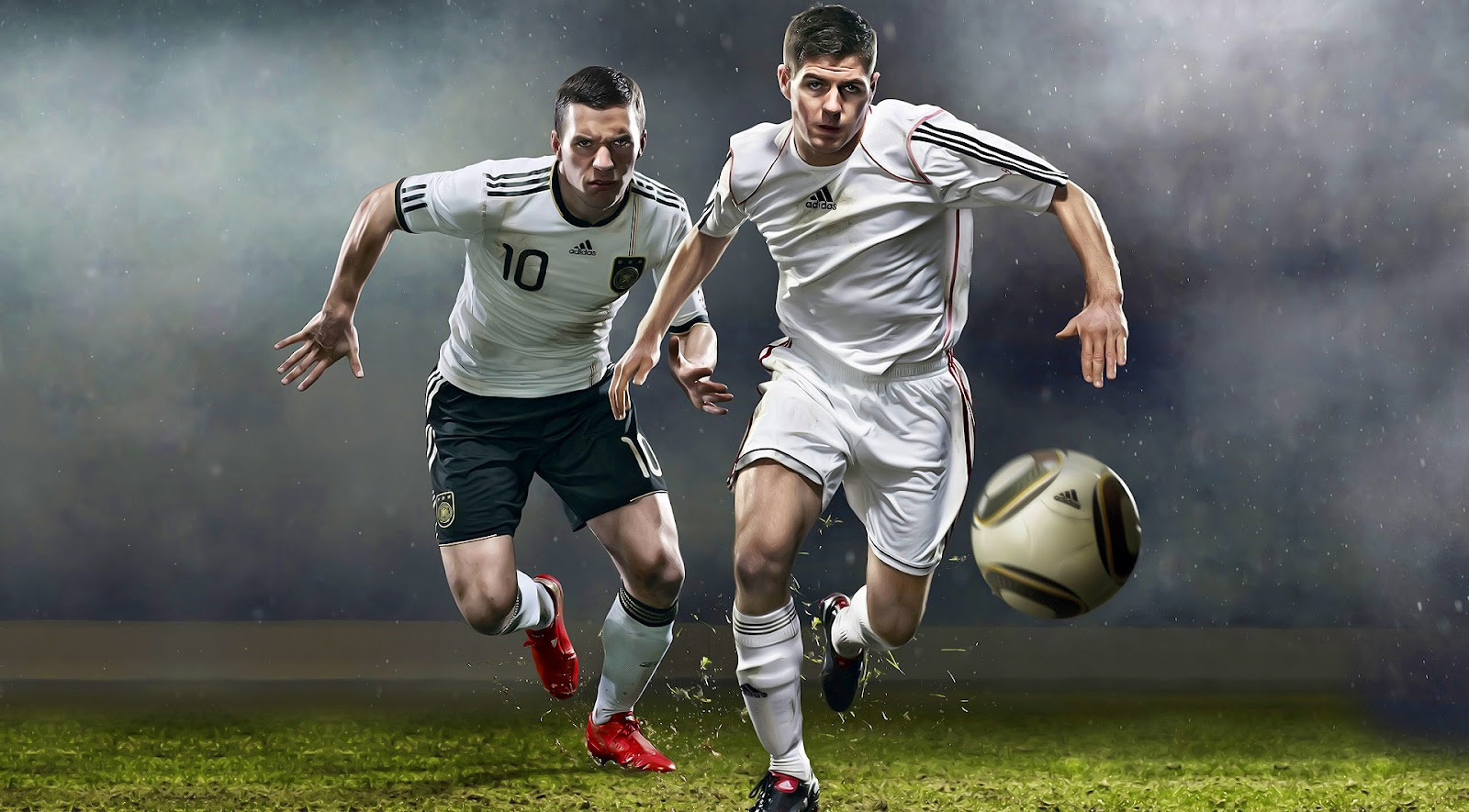 Soccer Players Wallpaper
