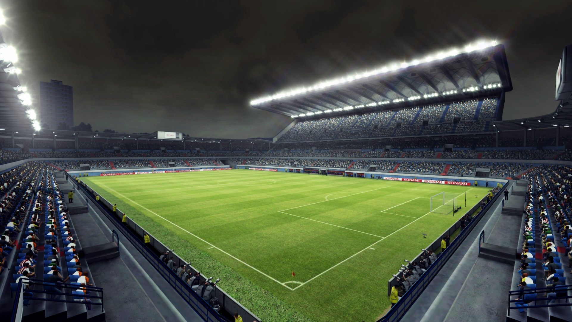 Soccer Stadium Wallpaper