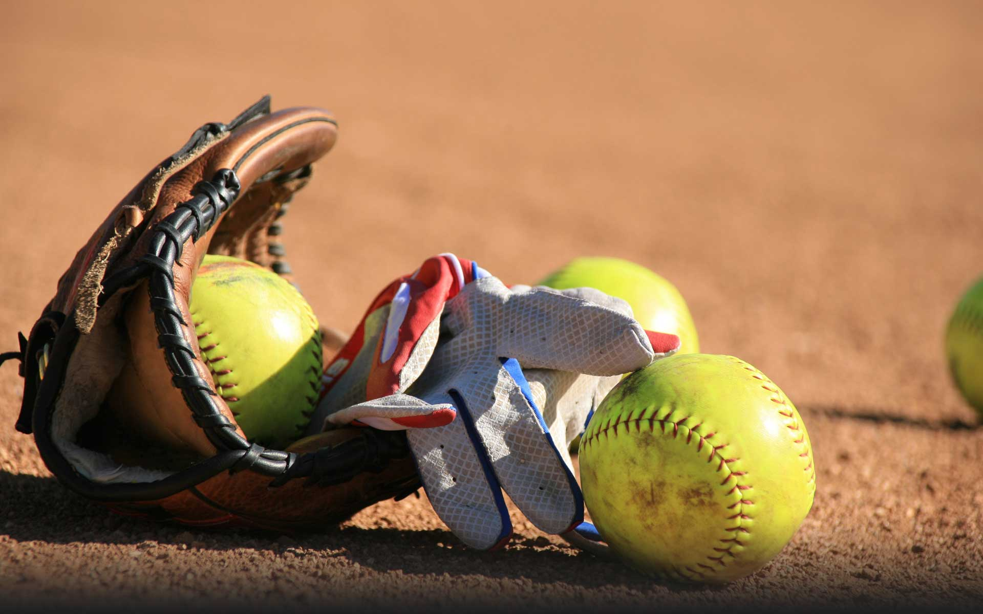 Softball Wallpaper