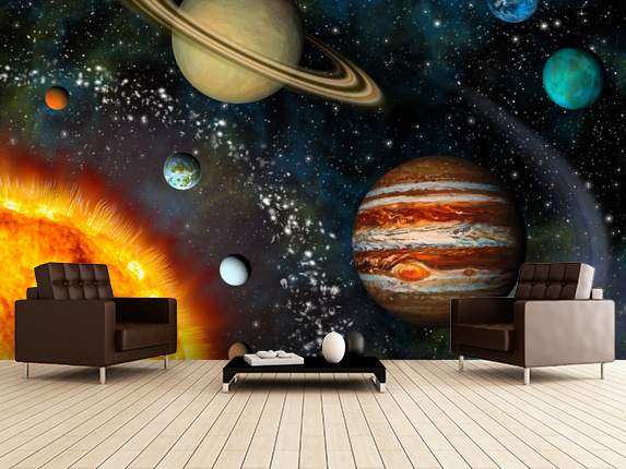 Awesome Solar System Bedroom Ideas - Decorating Design Ideas ...