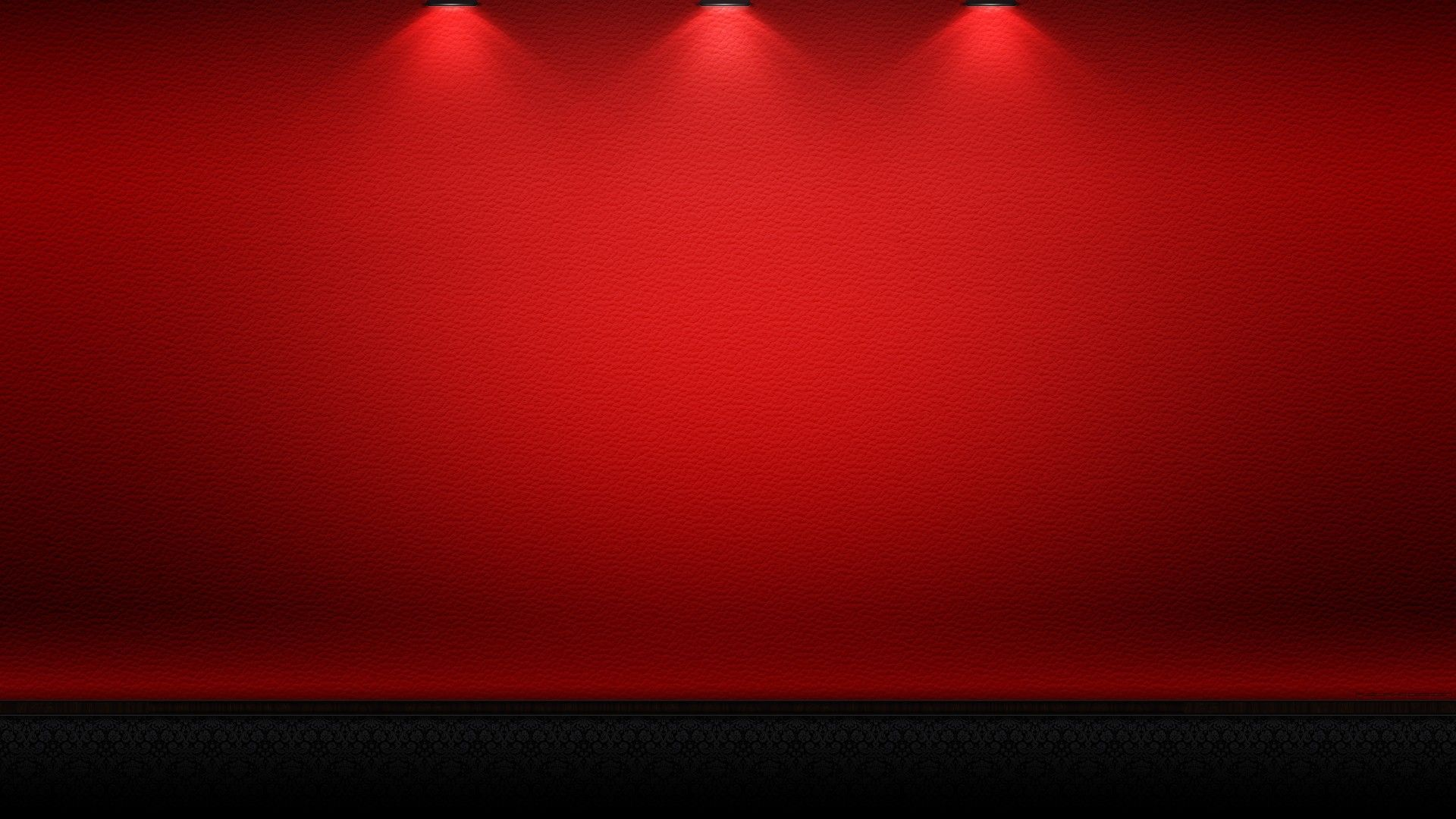 NeoBack Vinyl Cloth Photography Backdrop Red Background