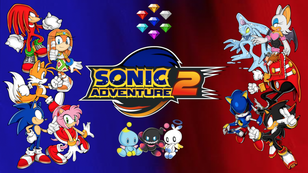 Download Sonic Adventure 2 Wallpaper Gallery
