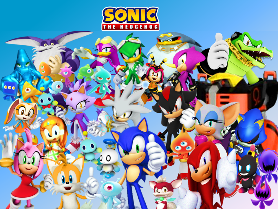 Sonic And Friends Wallpaper