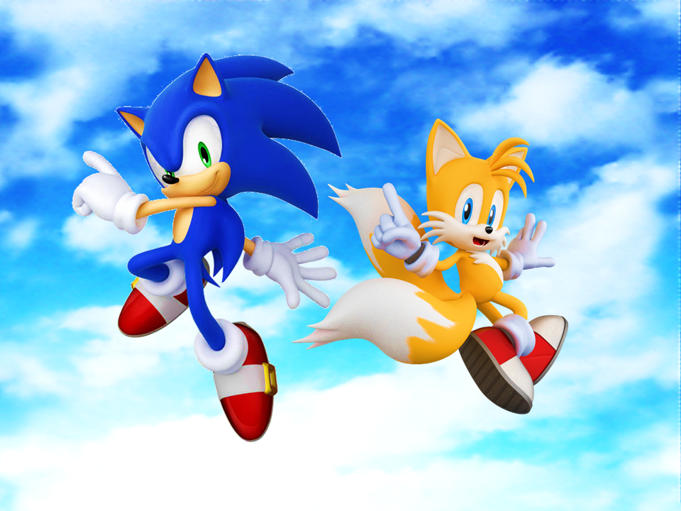 Sonic And Tails Wallpaper