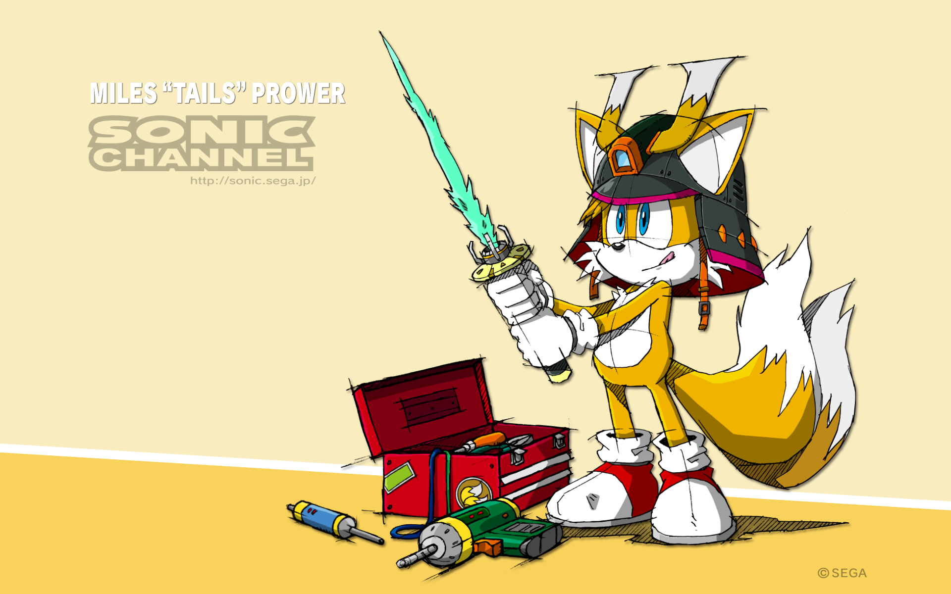 Sonic Channel Wallpapers