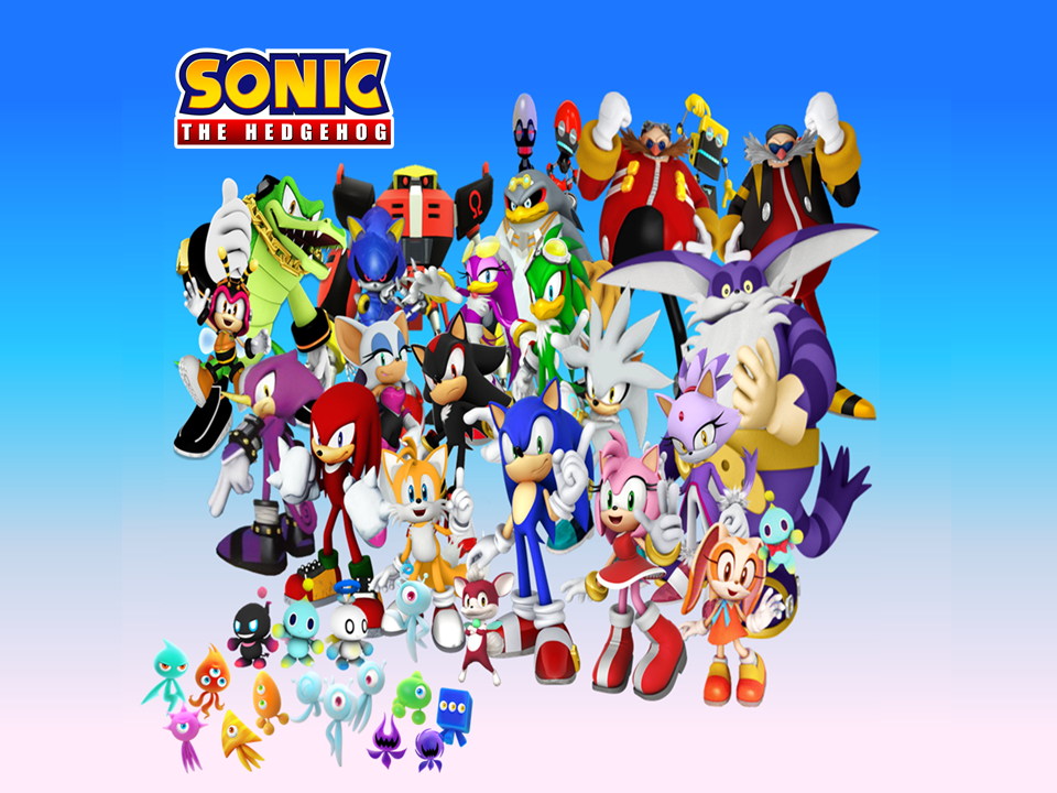 Sonic Characters Wallpaper
