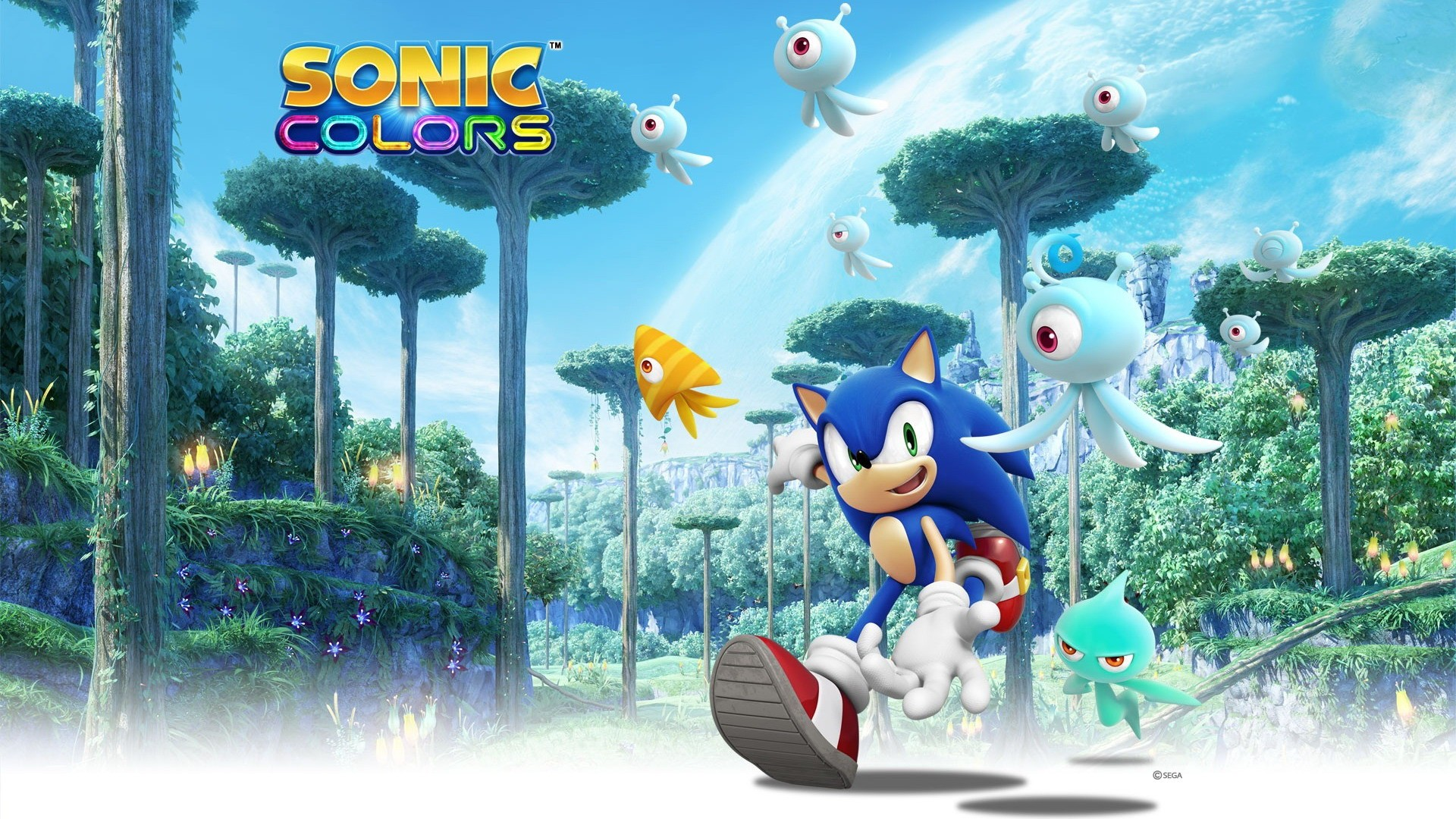 Sonic Colors Wallpaper