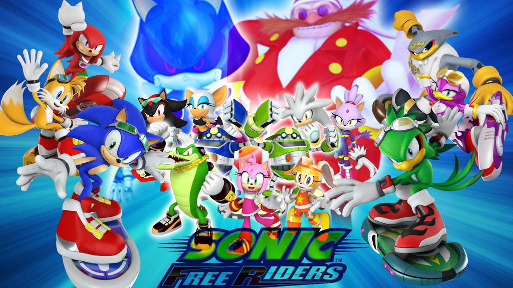 Sonic Free Riders Wallpaper