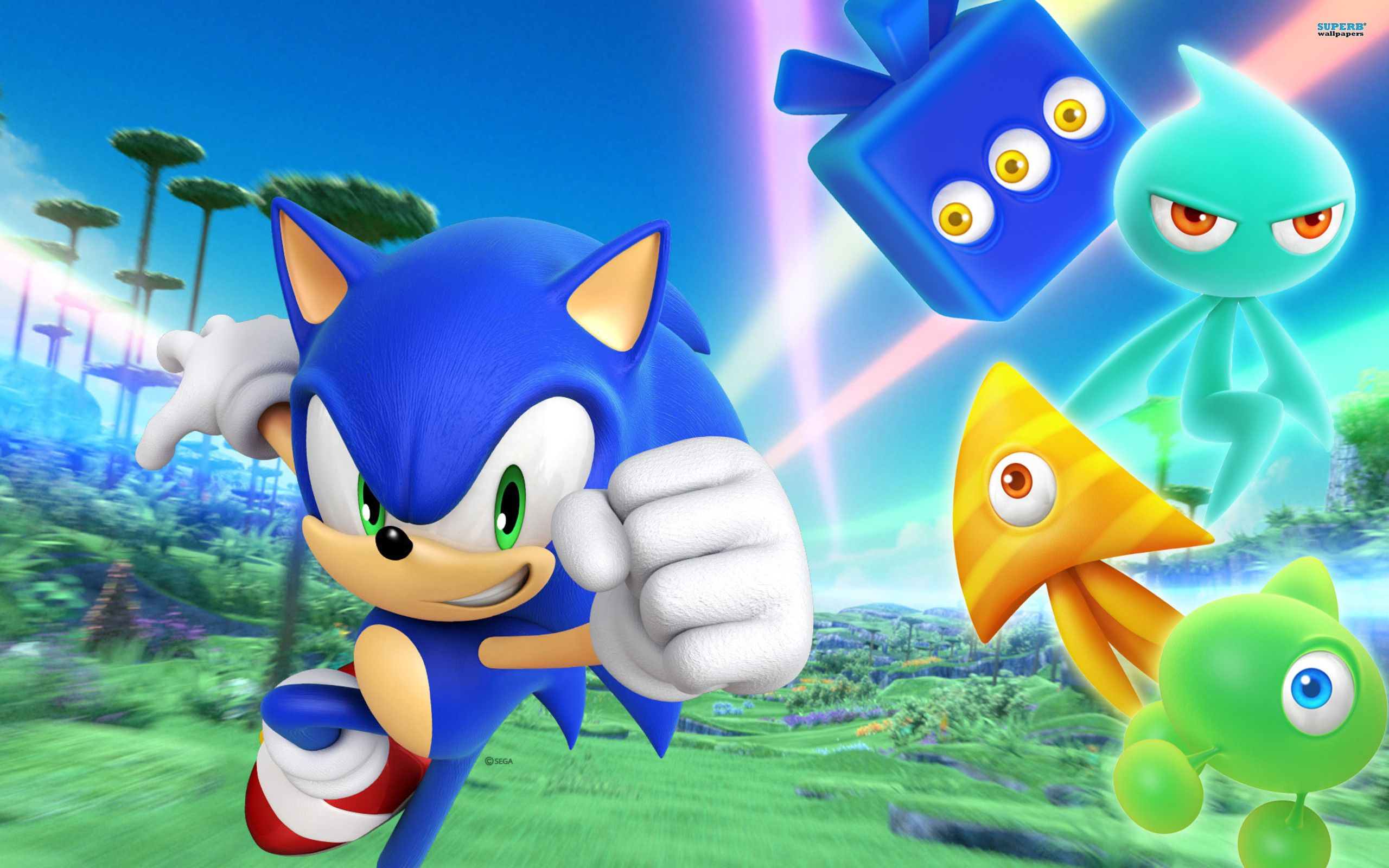 Sonic HD Wallpaper