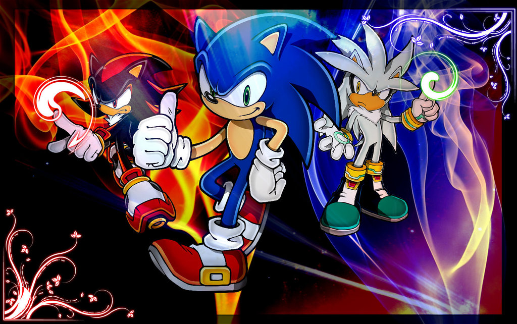 Sonic Shadow Silver Wallpaper