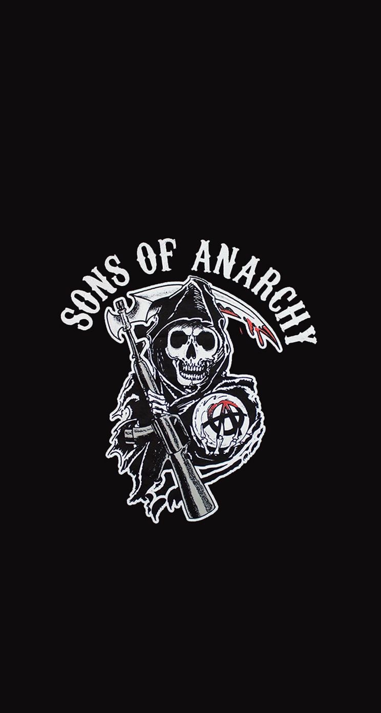 Sons Of Anarchy Iphone 5 Wallpaper