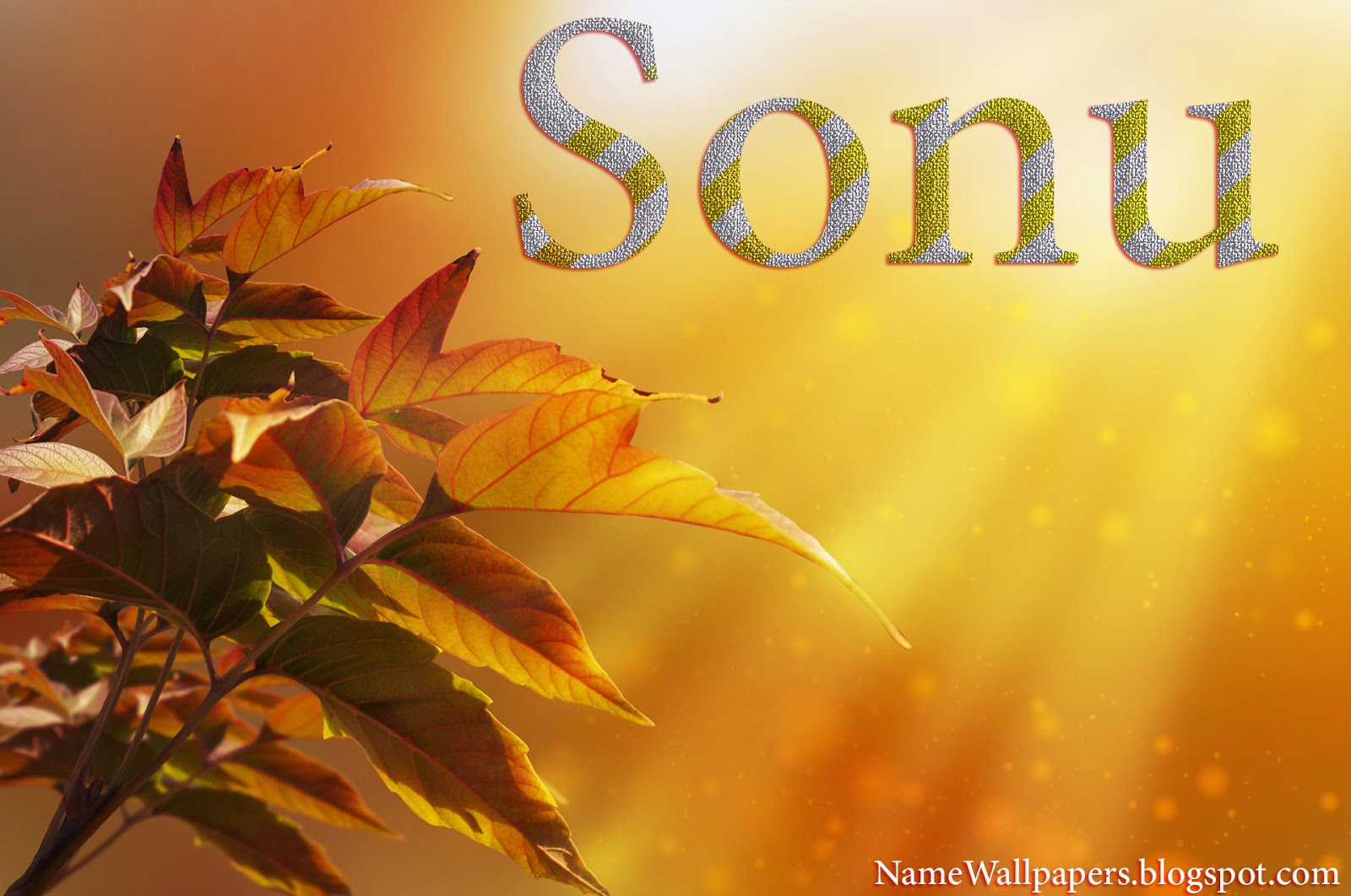 Sonu Name Wallpaper