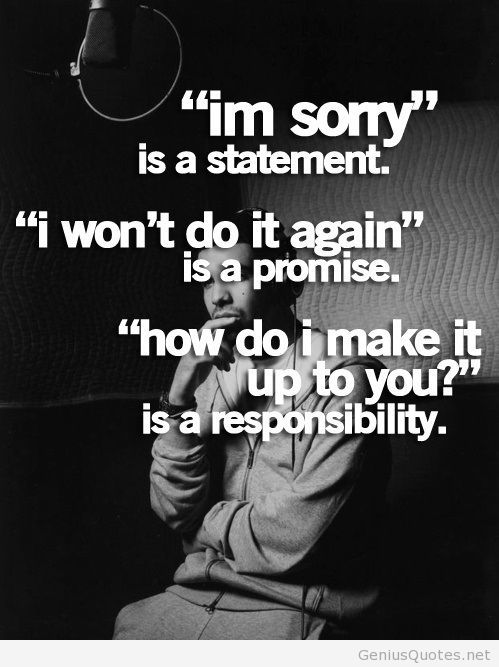 Sorry Quotes Wallpaper