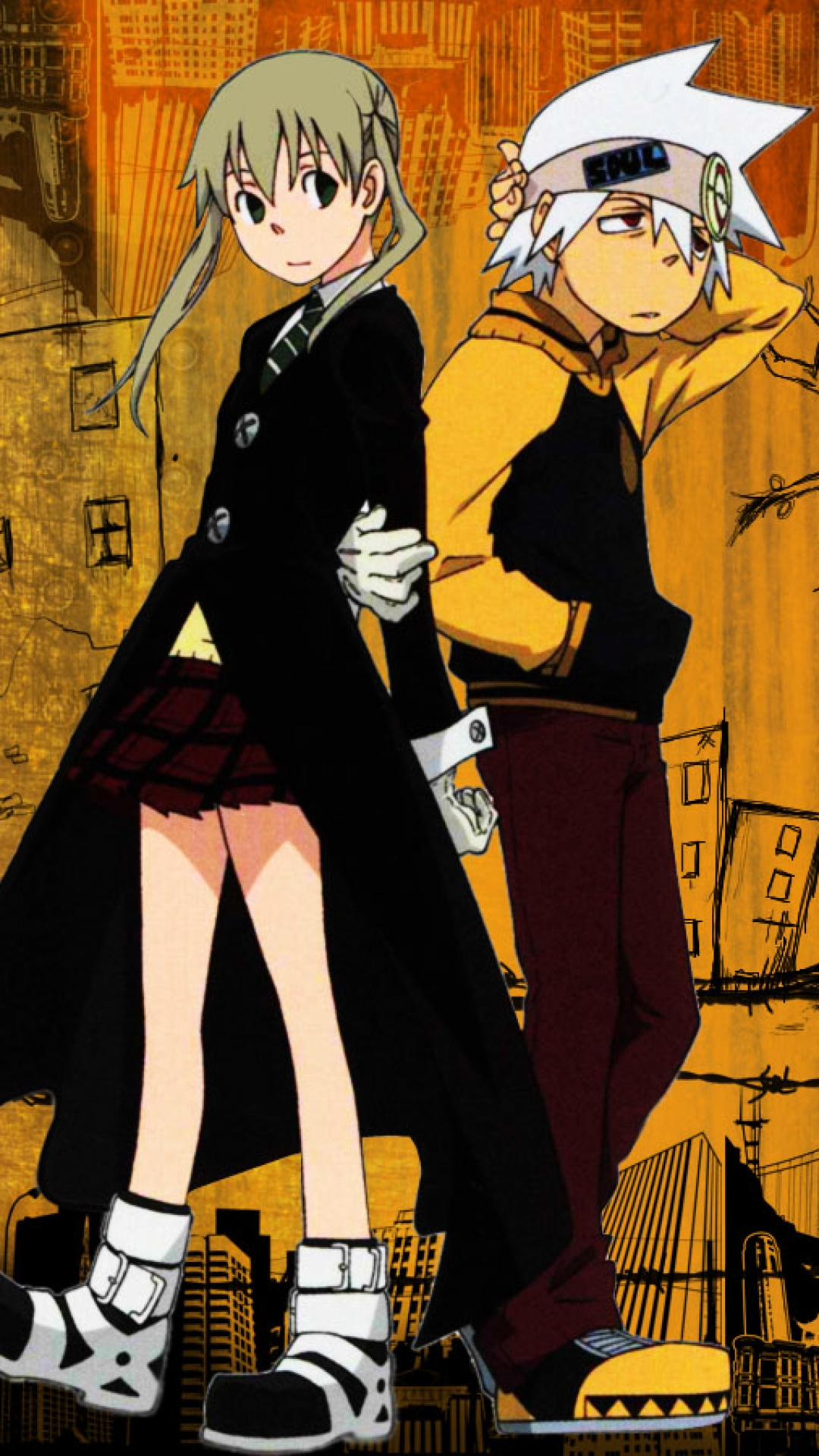 Soul Eater Iphone Wallpaper