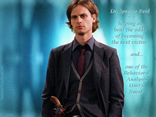 Spencer Reid Wallpaper