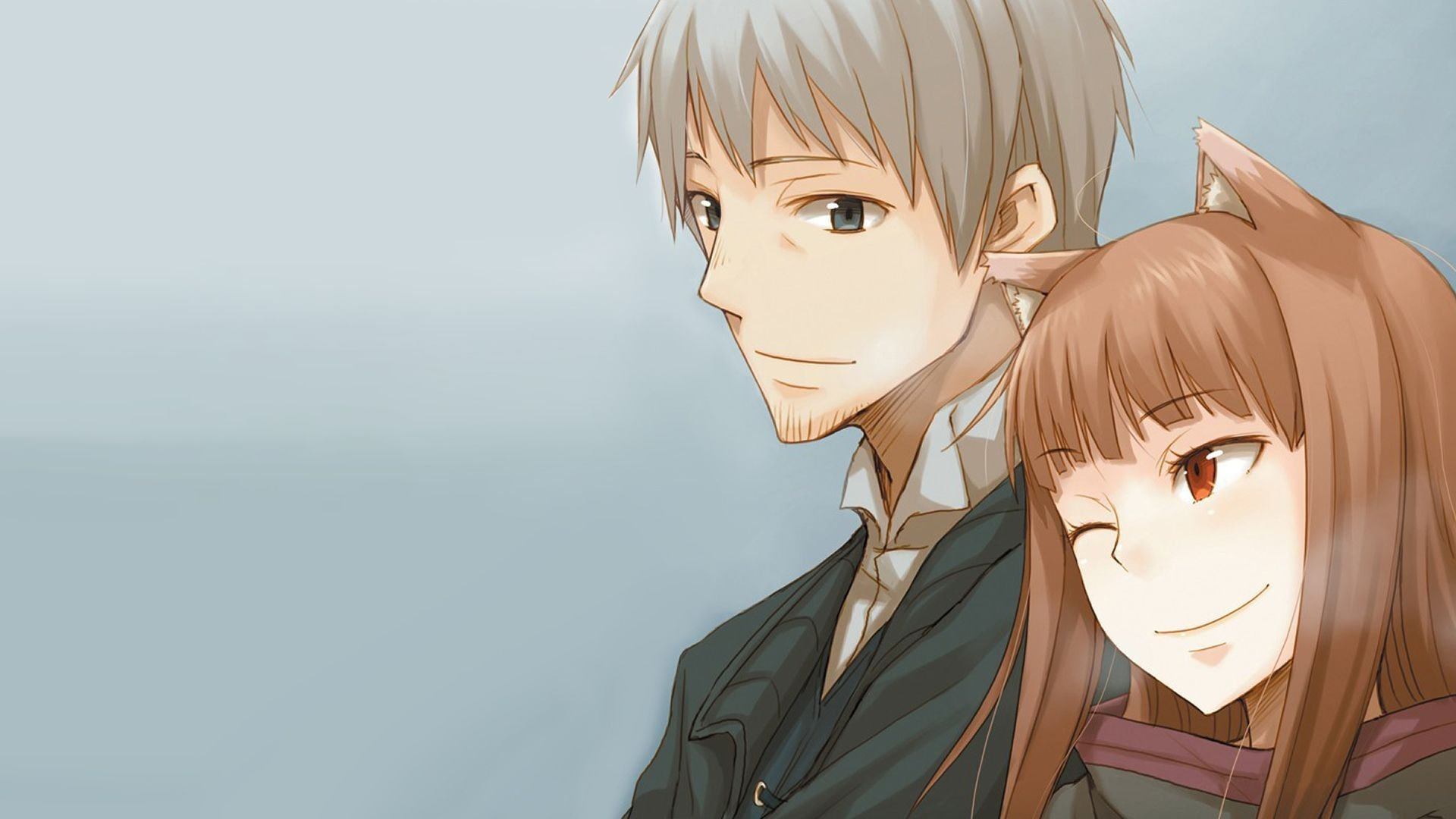 Spice And Wolf Wallpaper