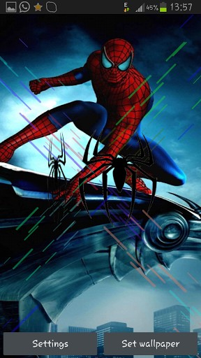 Spider Man Live Wallpaper
