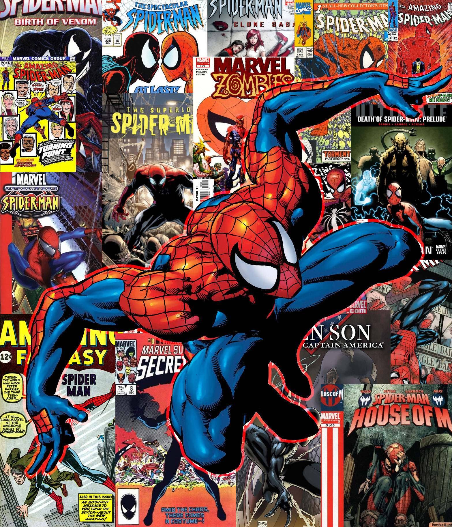 Spiderman comic cover