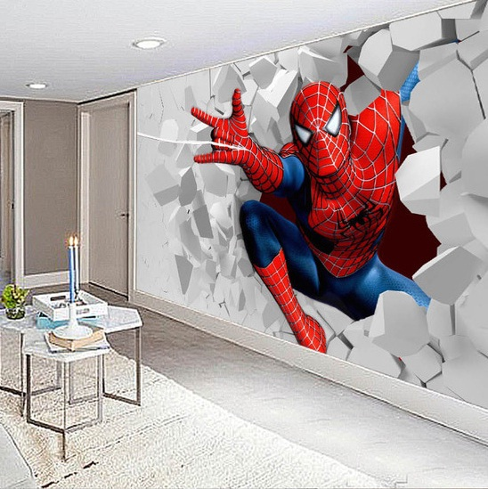 Spiderman Room Wallpaper