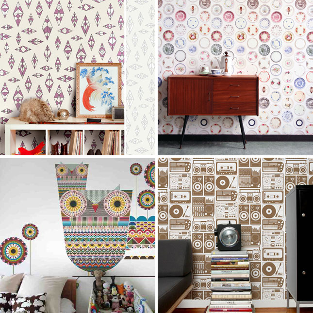 Spoonflower Wallpaper Review
